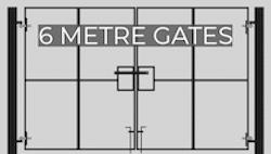 6m site gates